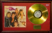 BAY CITY ROLLERS -Gold Disc&cover- WOULDN'T YOU LIKE IT